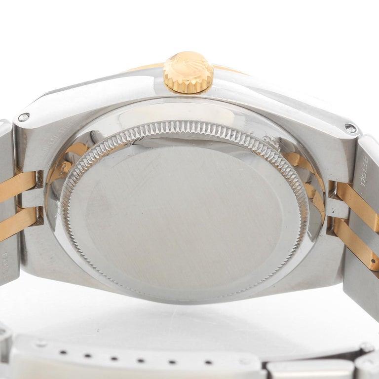 Rolex Oysterquartz Datejust 2-Tone Men's Watch 17013 For Sale 1