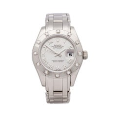 Rolex Pearlmaster 18K White Gold 80319