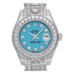 Rolex Pearlmaster 69299, Millimeters Color Dial, Certified and Warranty