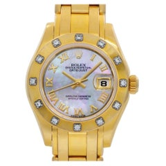 Rolex Pearlmaster 80318, White Dial, Certified and Warranty