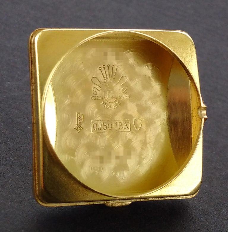 Rolex Perpetual Automatic 18 Carat Gold, circa 1951 For Sale 7