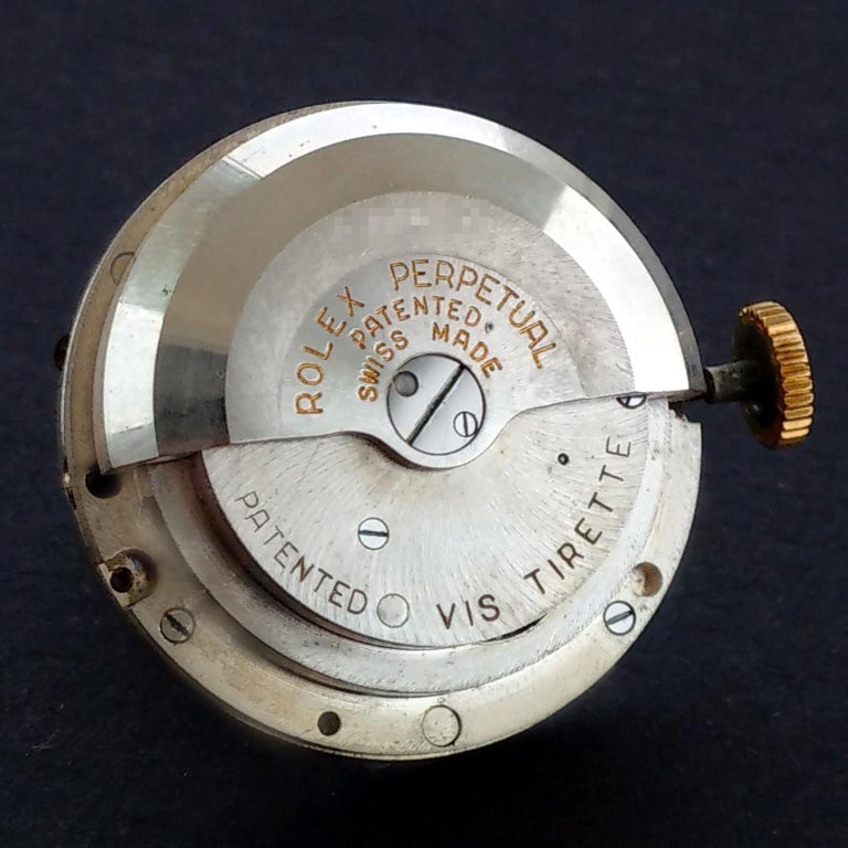 Rolex Perpetual Automatic 18 Carat Gold, circa 1951 For Sale 8