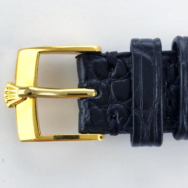 Rolex Perpetual Automatic 18 Carat Gold, circa 1951 For Sale 10