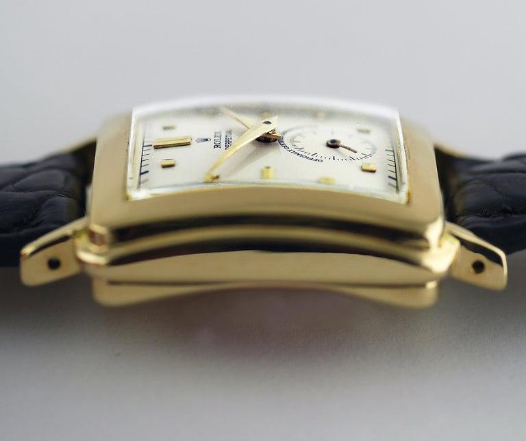 Rolex Perpetual Automatic 18 Carat Gold, circa 1951 For Sale 4