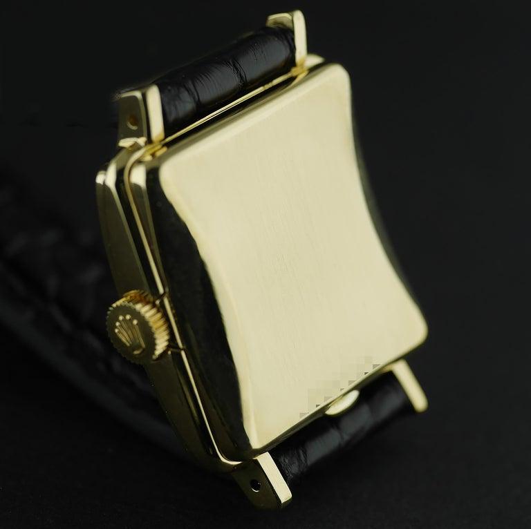 Rolex Perpetual Automatic 18 Carat Gold, circa 1951 For Sale 5