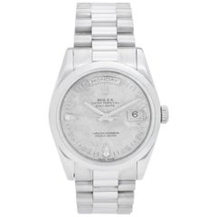 Rolex Platinum President Day-Date Men's Watch 118206