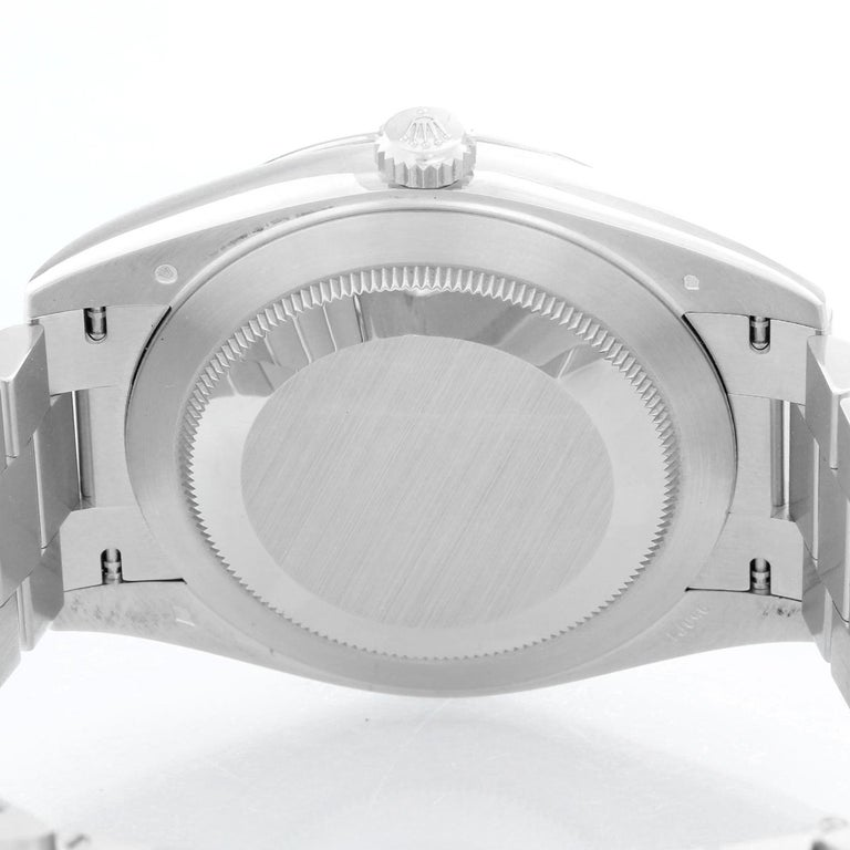 Rolex Platinum President Day-Date Men's Watch 228206 For Sale 1