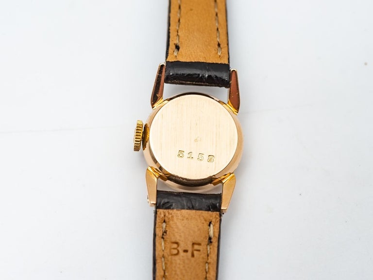 Rolex Precision 18k Gold Watch for Ladies, 1950's 1