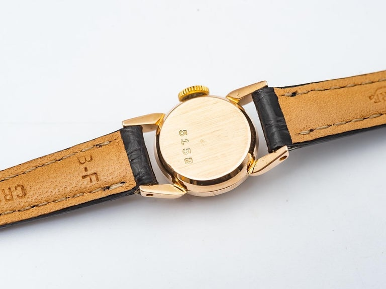 Rolex Precision 18k Gold Watch for Ladies, 1950's 2
