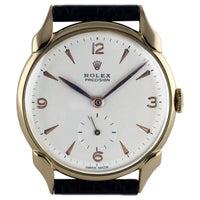 Rolex Precision Gold Wristwatch, 1958