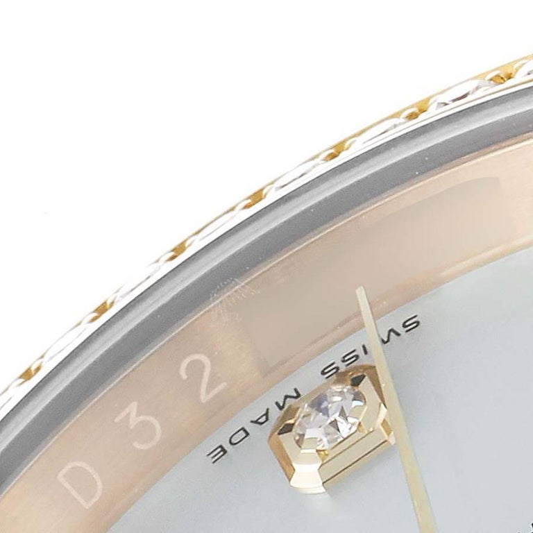 Rolex President 18k Yellow Gold MOP Diamond Dial Mens Watch 116188 For Sale 1