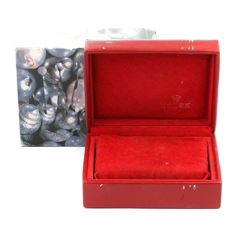 Rolex President Datejust 18K Yellow Gold Diamond Ladies Watch 69178 7