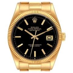 Rolex President Datejust 18k Yellow Gold Vintage Men's Watch 1601