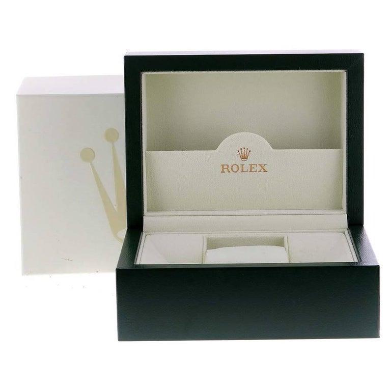 Rolex President Datejust Midsize Platinum Diamond Ladies Watch 78286 For Sale 7
