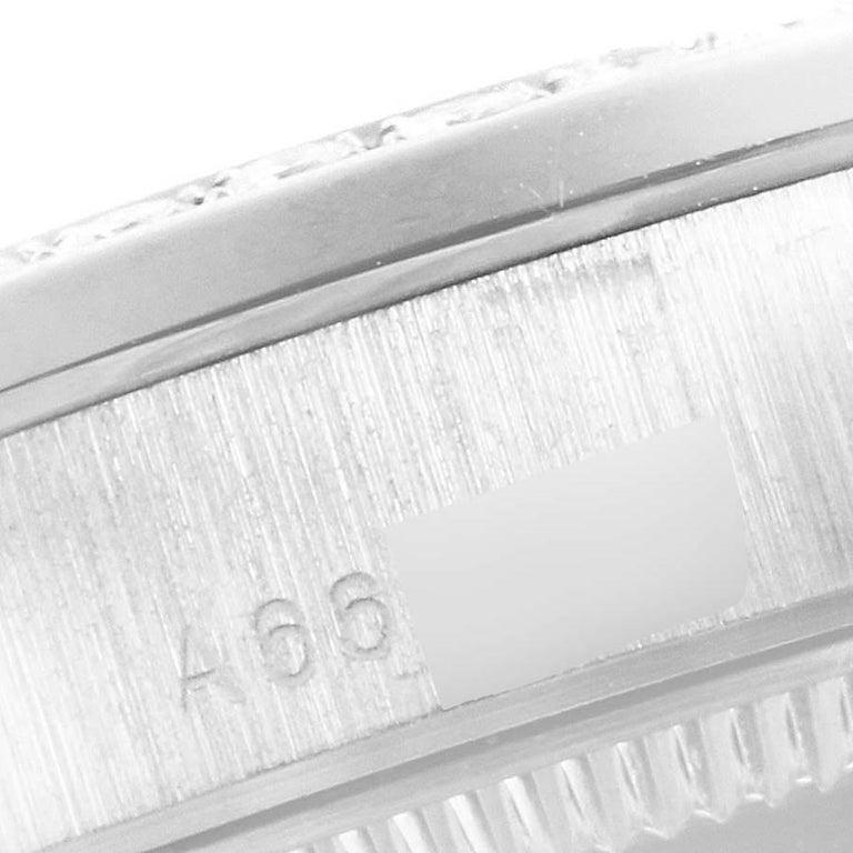 Rolex President Datejust Midsize Platinum Diamond Ladies Watch 78286 For Sale 3