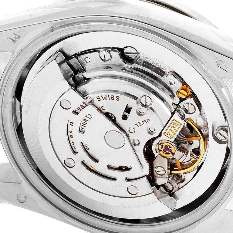 Rolex President Datejust Midsize Platinum Diamond Ladies Watch 78286 For Sale 4