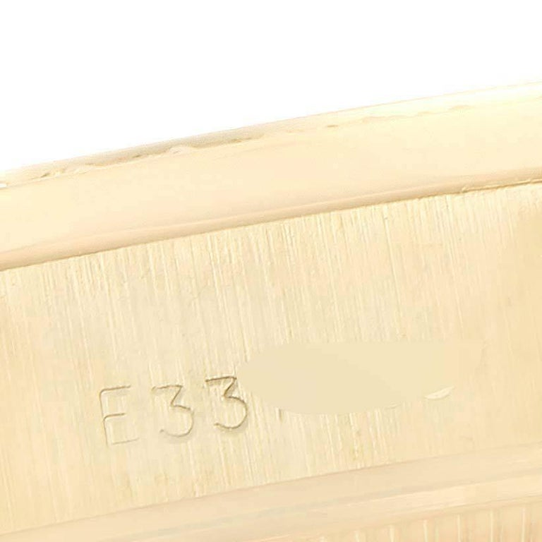 Rolex President Datejust Yellow Gold Diamond Rubies Ladies Watch 69138 For Sale 2