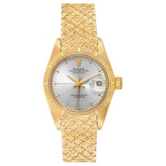 Rolex President Datejust Yellow Gold Ladies Watch 6900