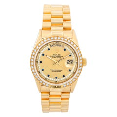 Rolex President Day-Date 18 Karat Yellow Gold Men's Watch 18038