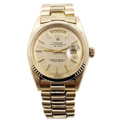 Rolex President Day Date 1803 Champagne Dial 18 Karat Yellow Gold