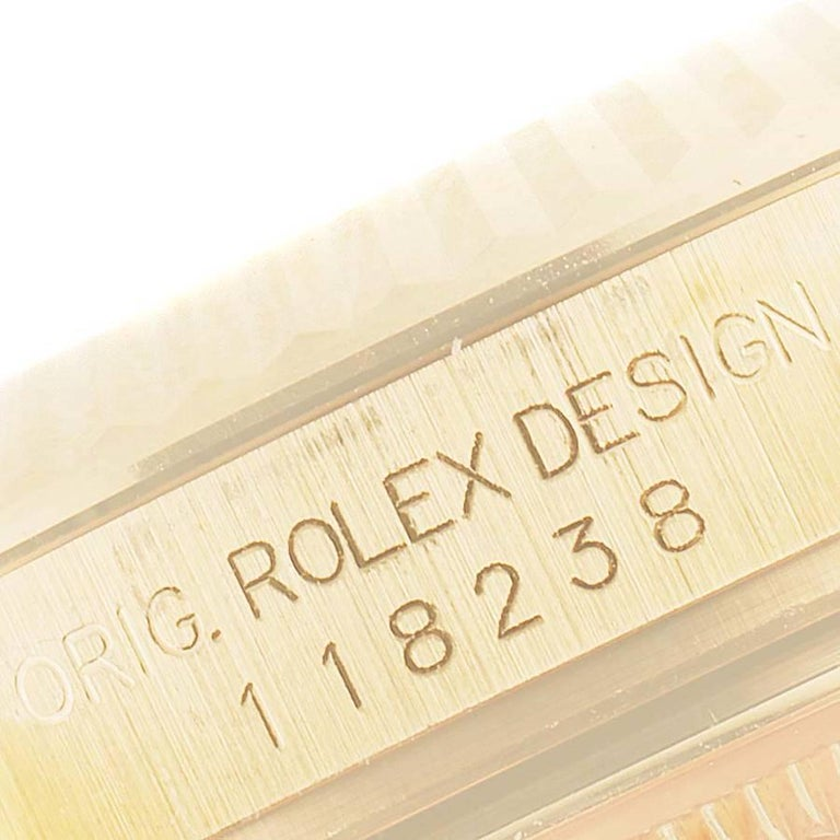 Rolex President Day Date Yellow Gold Men's Watch 118238 For Sale 3
