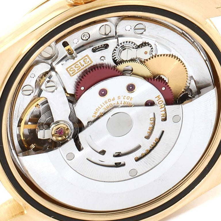 Rolex President Day Date Yellow Gold Men's Watch 118238 For Sale 5