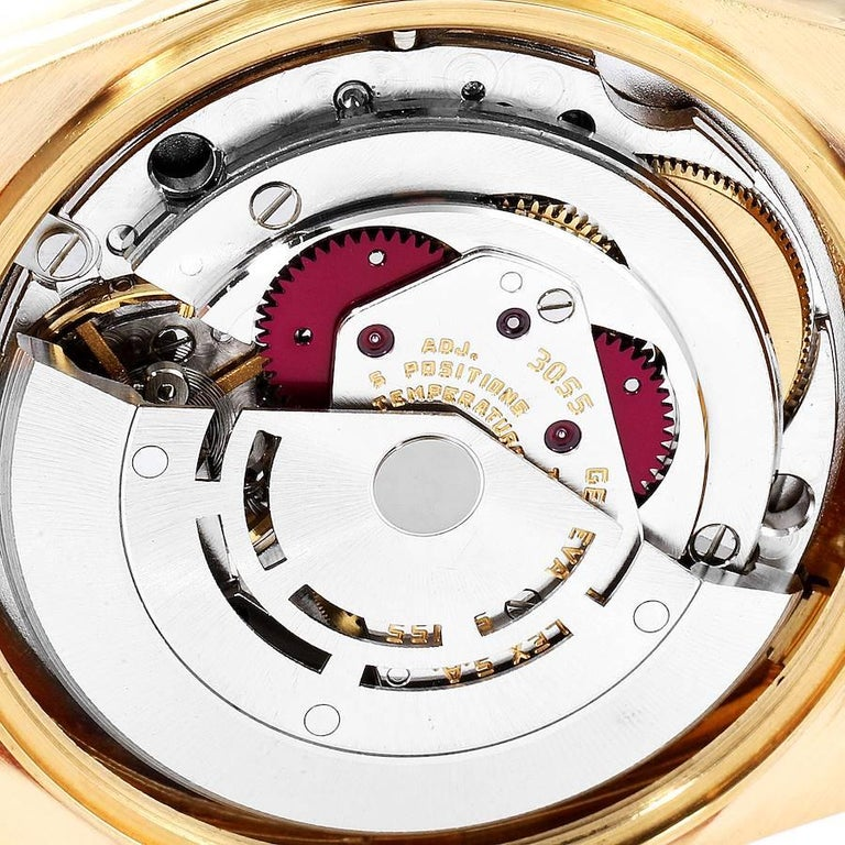 Rolex President Day-Date Yellow Gold Men's Watch 18038 Box 4