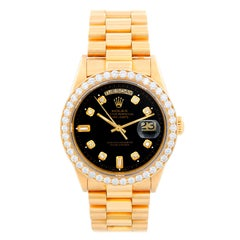 Rolex President Day-Date Men's 18 Karat Gold Watch 18048
