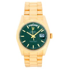 Rolex President Day-Date Men's 18 Karat Yellow Gold Watch 118238