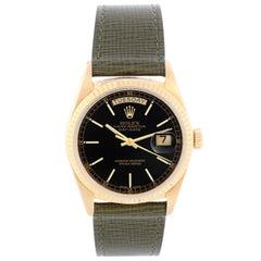 Rolex President Day-Date Men's 18k Gold Watch 18038