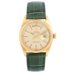 Rolex President Day-Date Men's 18k Yellow Gold Watch 1803