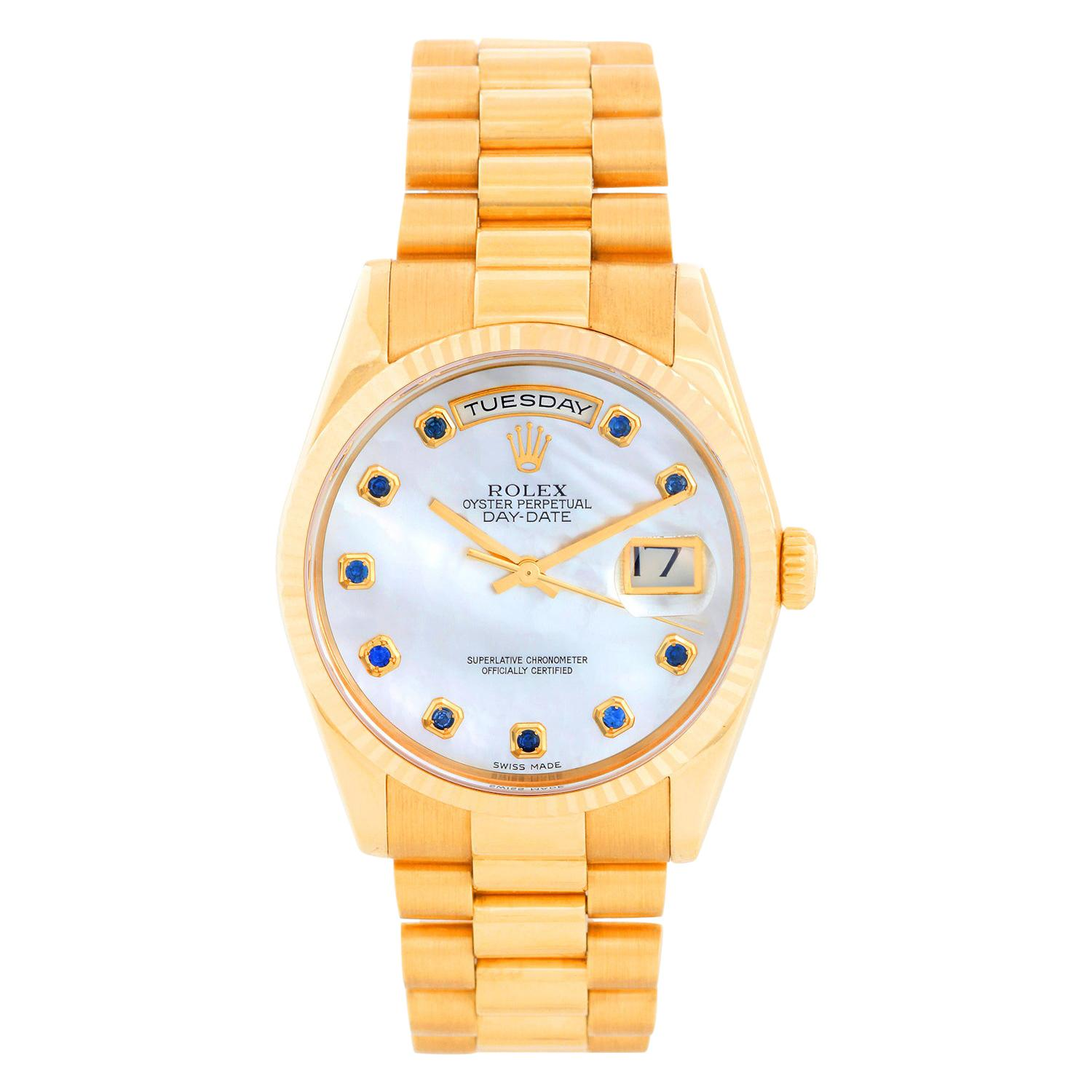 Rolex President Day-Date Men's Watch 118238