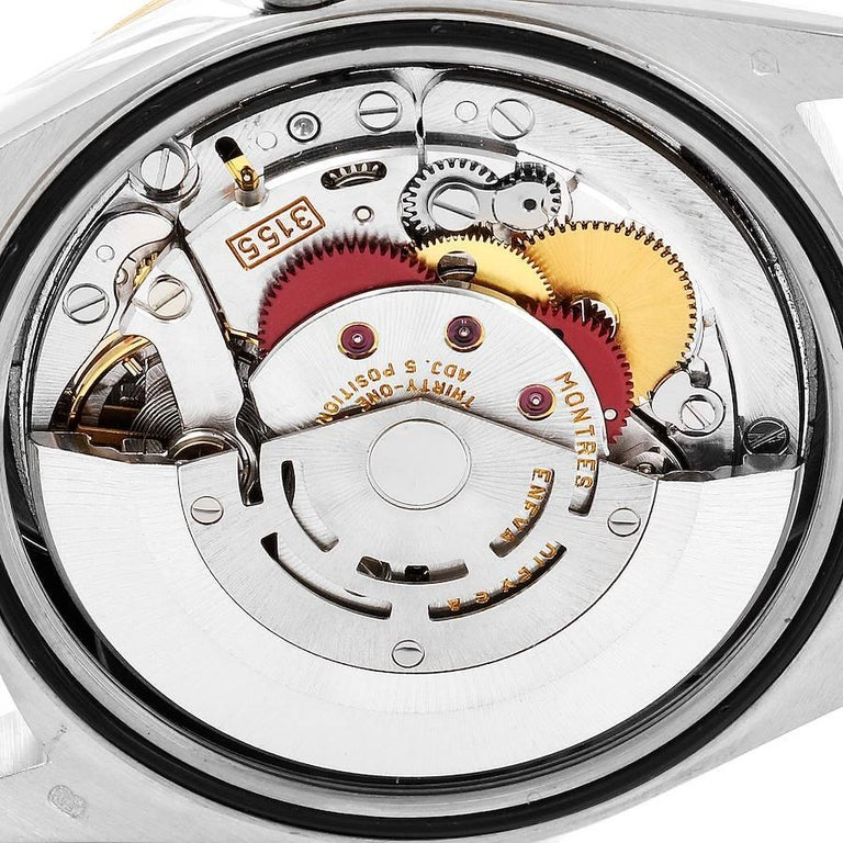Rolex President Day-Date Tridor White Yellow Rose Gold Mens Watch 18239 For Sale 4