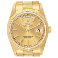 Rolex President Day-Date Yellow Gold Men's Watch 18248 Box