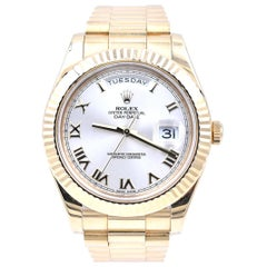 Rolex President II Yellow Gold Wristwatch Ref. 218238
