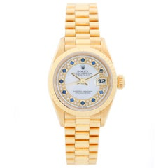 Rolex President Ladies 18 Karat Yellow Gold Watch 69178