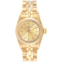 Rolex President No-Date 18 Karat Yellow Gold Ladies Watch 67198