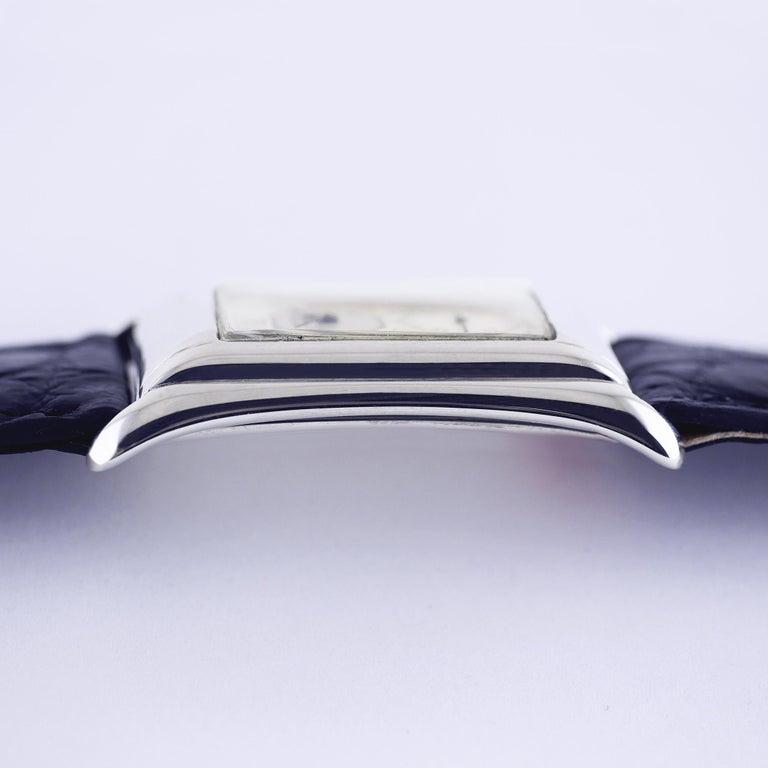 Rolex Prince Brancard, Art Deco, Silver, 1929 For Sale 5