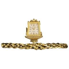 Rolex Rare Precision Lantern Vintage Silver Dial Bracelet Watch