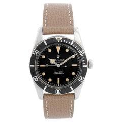 "Rolex Rare Stainless Steel "" James Bond "" Small Crown Submariner Ref. 6536 / 1"