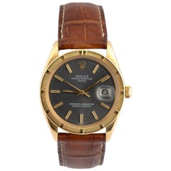 Rolex Ref. 1501 Date Yellow Gold Oyster Perpetual Wristwatch