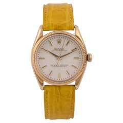 Rolex Ref. 6567 Self-Winding Centre-Seconds Oyster Perpetual 18K Yellow Gold