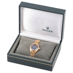 Rolex Ref. 6917 Datejust Yellow Gold Diamond Dial
