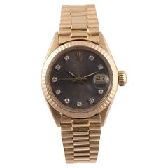 Rolex Ref. 6917, Lady's Datejust Gold and Diamonds