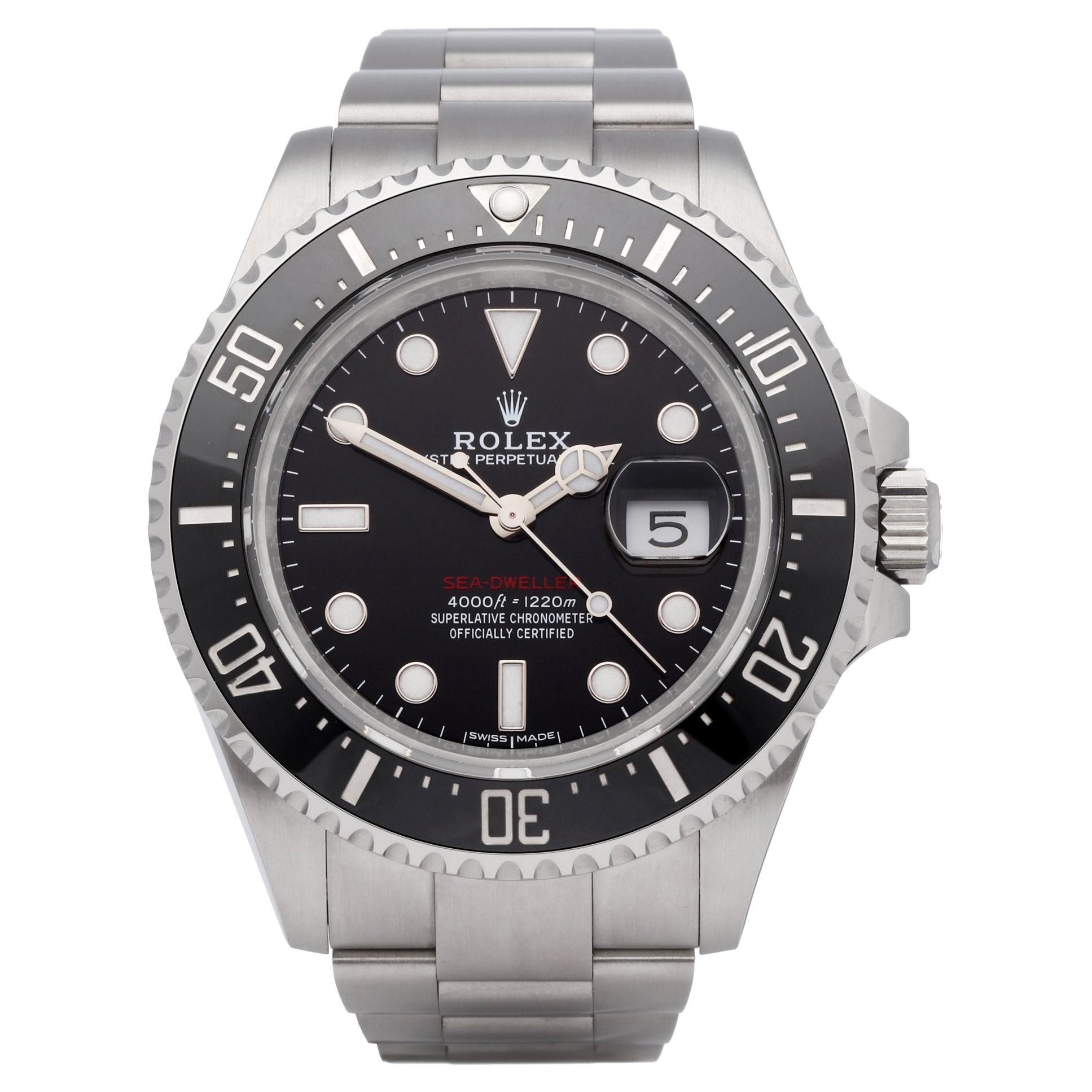 Rolex Sea-Dweller 0 126600 Men's Stainless Steel 0 Watch