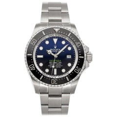 Rolex Sea-Dweller 126660, Blue Dial, Certified and Warranty