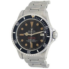 Rolex Sea-Dweller 1665, Black Dial, Certified and Warranty