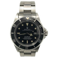 Rolex Sea-Dweller 16660 with Band and Black Dial