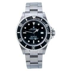 Rolex Sea-Dweller 4000ft 16600 Auto Mens Watch Box & Paper 2005