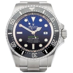 Rolex Sea-Dweller Deep Sea 126660 Men's Stainless Steel James Cameron Deep Blue
